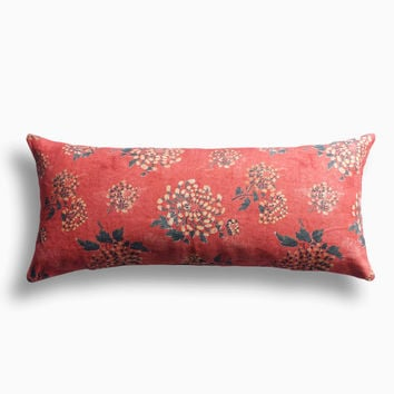 Golden Blossom Pillow
