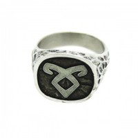 Mortal Instruments City of Bones Official Merchandise: Angelic Power Glow in the Dark Ring | My Flash Trash