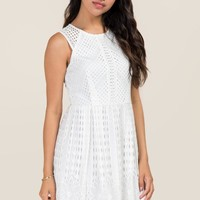 Karina Lace A-Line Dress