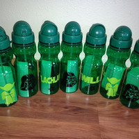 Personalized Kid Star Wars Party Water bottle