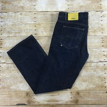 WESC 5 Pocket Jean 12.5oz Ring Spun Raw Denim Pants Mens Size W36 x L31