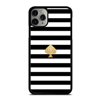 KATE SPADE GOLD AND STRIPES iPhone Case Cover