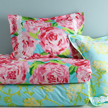 Lilly Pulitzer 174 Sister Florals Comforter From Garnet Hill