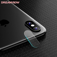 For Apple iPhone X 8 7 6 6S Plus Accessory Back Camera Lens Screen Protector Full Cover Tempered Glass Film For iPhone 8 7 6 X