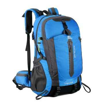 50L Nylon Backpack  Waterproof Men's Back Pack Hiking Outdoor Rucksack High Quality Male Cycling Hiking Backpacks Camping Bag