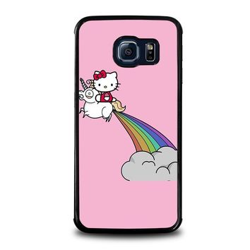 HELLO KITTY UNICORN Samsung Galaxy S6 Edge Case Cover