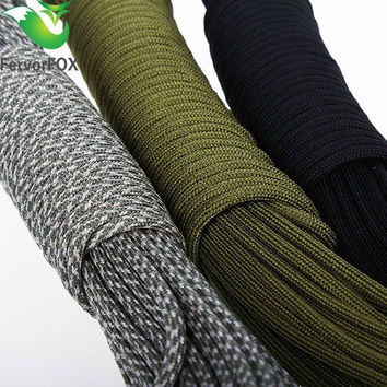 33FT(10M) Paracord Parachute Cord Lanyard Rope