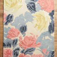 Rose Relief Rug by Anthropologie