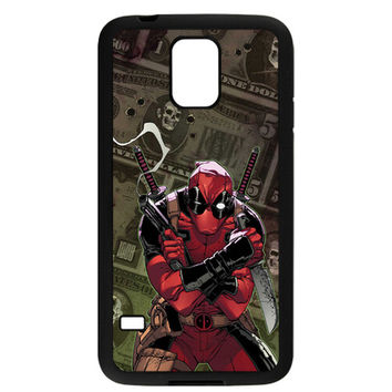 "Marvel Deadpool (""Gimme My Money"") TPU Bumper for Samsung Galaxy S5"