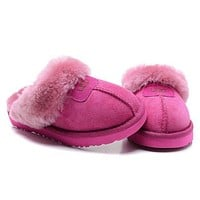 """UGG"" Women Casual Wool Slipper Shoes I"