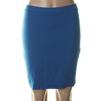 Lily White Womens Knit Mini Skirt