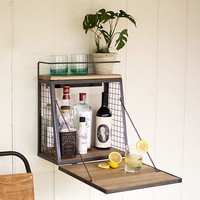 Hanging Cocktail Bar | Barware Storage; Creative Entertaining