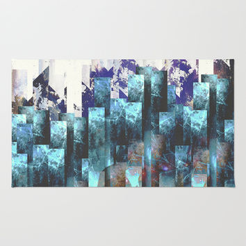 Cold cities Rug by HappyMelvin