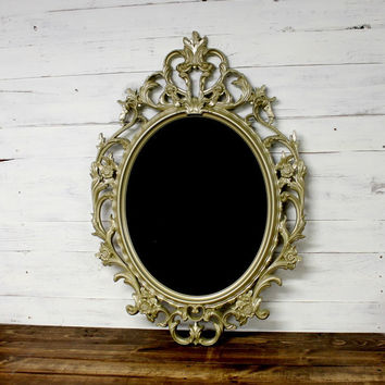 Large Ornate Gold Chalkboard - Shabby Chic - Victorian Chic - Baroque Chalkboard - Cottage Chic - Wall Chalkboard - Vintage Gold