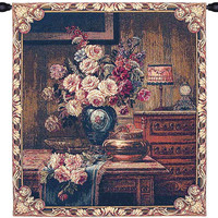 Floral Setting Italian Wall Hanging