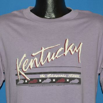 80s Kentucky The Bluegrass State Tourist t-shirt Medium