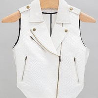 Ark & Co. Asymmetric Zip Vest