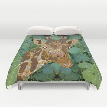 In the Jungle Duvet Cover by ArtLovePassion