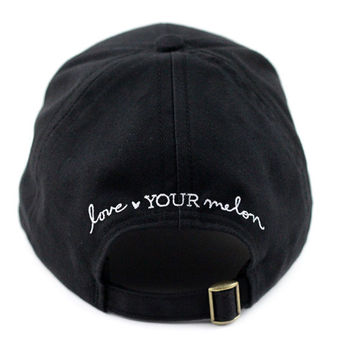 Black Bayside Cap | Love Your Melon