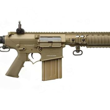 ARES SR25 CARBINE AIRSOFT RIFLE, DARK EARTH