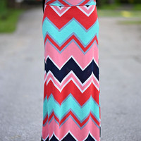 Life in Color Maxi Skirt