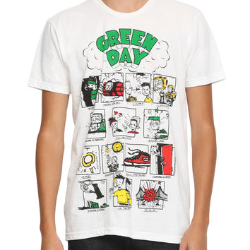 Green Day Dookie Songs T-Shirt