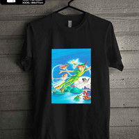 Walt Disney Posters Peter Pan walt disney characters T-SHIRT FOR MAN SHIRT,WOMEN SHIRT **