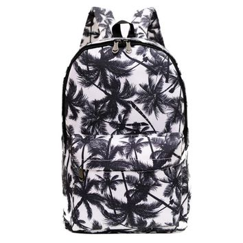 2017 New Popular Fashion Women Men Canvas Backpack Bookbag Rucksack Travel School Shoulder Bag Satchel  Z703
