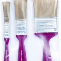 Paint Brush Set 3Pc