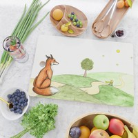 The little Prince and the Fox Cutting Board by savousepate