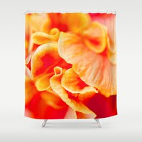FLOWER Shower Curtain by Oksana Smith
