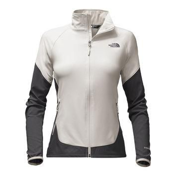 Women's Nimble Jacket in Moonlight Ivory and Asphalt Grey by The North Face - FINAL SA