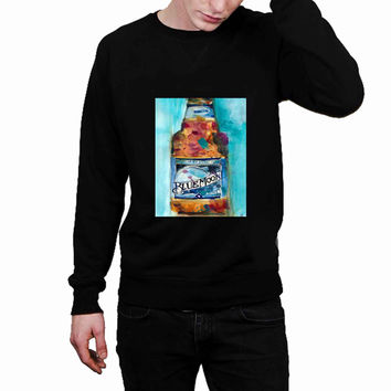 BLUE MOON Beer watercolor 3fd69128-69bd-4579-80f0-63e4bfa8d433 - Sweater for Man and Woman, S / M / L / XL / 2XL *02*