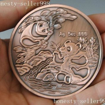 Chinese collection Rare 1994 panda animal beast commemorative coins