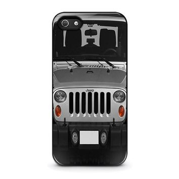 jeep iphone 5 5s se case cover  number 1