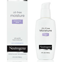 Oil-Free Moisture - Sensitive Skin | Neutrogena®