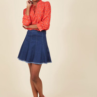 Here and Spirited Mini Skirt | Mod Retro Vintage Skirts | ModCloth.com