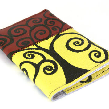 BohemianTree - Leather Notebook (refillable)- christmasinjuly