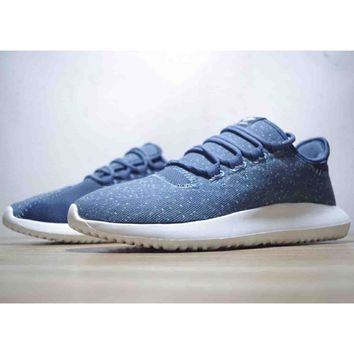 ADIDAS TUBULAR SHADOW Men's and Women's Fashion Casual Sports Running Shoes F-CSXY blue