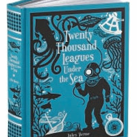Twenty Thousand Leagues Under the Sea (Barnes & Noble Leatherbound Classics), Barnes & Noble Leatherbound Classics Series, Jules Verne, (9781435142114). Hardcover - Barnes & Noble
