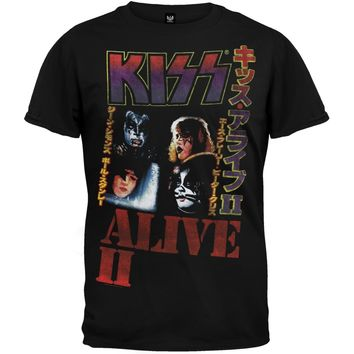 Kiss - Alive II T-Shirt