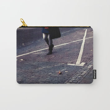 Unknown woman from Utrecht (c) 2017 Carry-All Pouch by Belette Le Pink