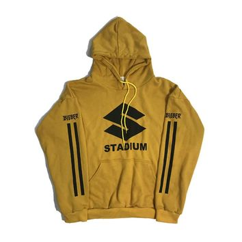 High Quality Stadium Justin Bieber Sweatshirts Hoodie