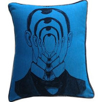 Introvert Man Pillow