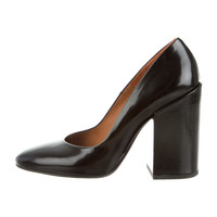 Dries Van Noten Round-Toe Pumps
