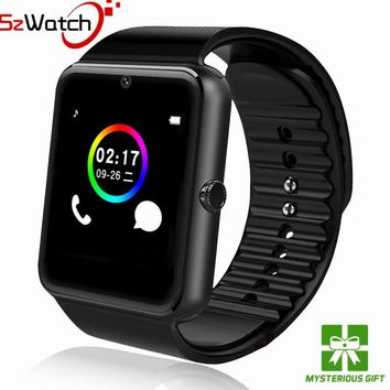 SzWatch Original Smart Watch GT08 Support Sim TF Card Bluetooth Connectivity Android IOS Phone Sport Wrist Wear PK Q18 DZ09