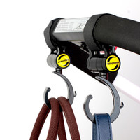 Solid Baby Cart Hook 2 Pieces General Baby Trolley Parts 360 Degree Umbrella Hooks For Babies Stroller