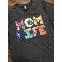 MOM LIFE HoDgE PoDgE Shirt