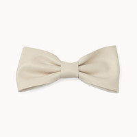 FOREVER 21 Faux Leather Bow Barrette