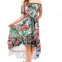 Tropic Foliage Dress